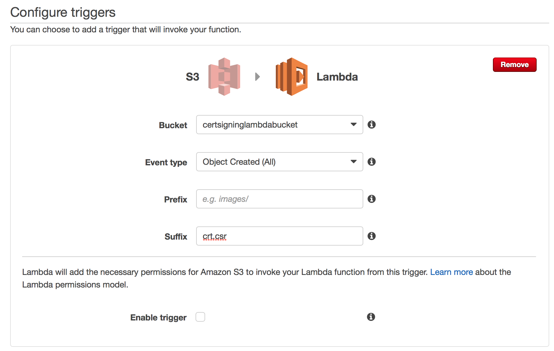 AWS Lambda guide part III – Adding S3 trigger in Lambda function